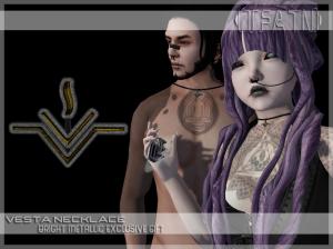 Vesta Necklace Ad