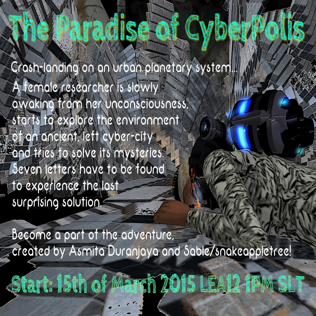 The Paradise of Cyberpolis Poster - 3_15_15
